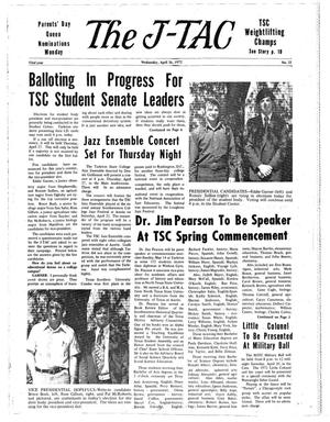 The J-TAC (Stephenville, Tex.), Vol. 53, No. 21, Ed. 1 Wednesday, April 26, 1972