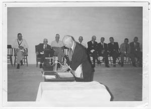 Primary view of object titled 'Dedication Ceremony Culberson Masonic Lodge'.