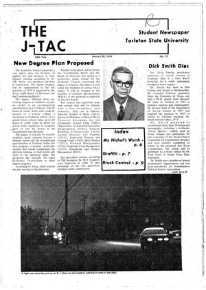 The J-TAC (Stephenville, Tex.), Vol. 54, No. 13, Ed. 1 Wednesday, January 30, 1974