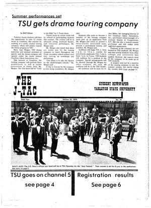 The J-TAC (Stephenville, Tex.), Vol. 55, No. 15, Ed. 1 Thursday, January 23, 1975
