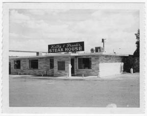 Primary view of object titled 'Kathy and Frank's Steakhouse'.
