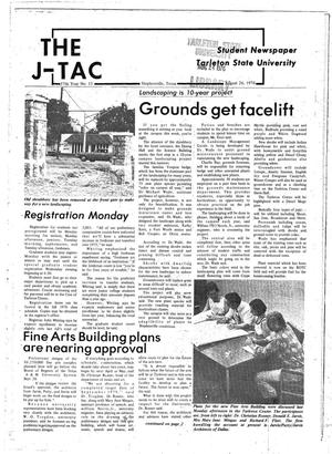 Primary view of object titled 'The J-TAC (Stephenville, Tex.), Vol. 57, No. 15, Ed. 1 Thursday, August 26, 1976'.