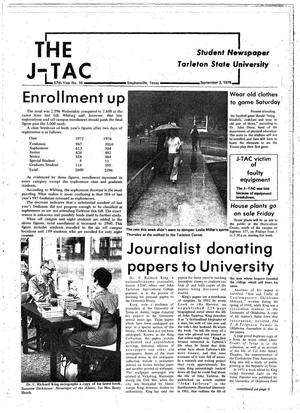 Primary view of object titled 'The J-TAC (Stephenville, Tex.), Vol. 57, No. 16, Ed. 1 Thursday, September 2, 1976'.