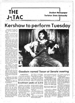 Primary view of object titled 'The J-TAC (Stephenville, Tex.), Vol. 57, No. 19, Ed. 1 Thursday, September 23, 1976'.