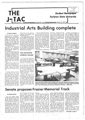 Primary view of object titled 'The J-TAC (Stephenville, Tex.), Vol. 58, No. 1, Ed. 1 Thursday, January 27, 1977'.