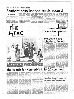 The J-TAC (Stephenville, Tex.), Vol. 58, No. 6, Ed. 1 Thursday, March 3, 1977