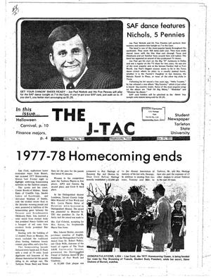 Primary view of object titled 'The J-TAC (Stephenville, Tex.), Vol. 58, No. 21, Ed. 1 Thursday, October 20, 1977'.