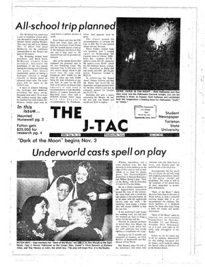 Primary view of object titled 'The J-TAC (Stephenville, Tex.), Vol. 58, No. 22, Ed. 1 Thursday, October 27, 1977'.