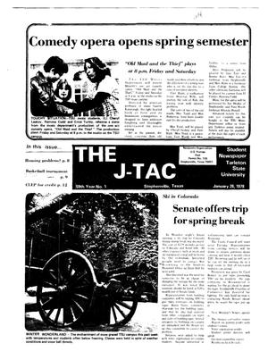 Primary view of object titled 'The J-TAC (Stephenville, Tex.), Vol. 59, No. 1, Ed. 1 Thursday, January 26, 1978'.