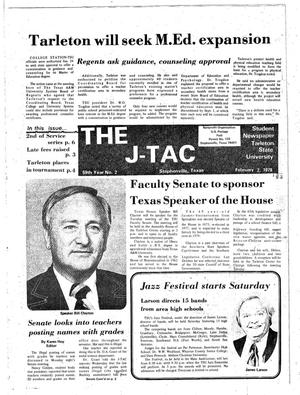 The J-TAC (Stephenville, Tex.), Vol. 59, No. 2, Ed. 1 Thursday, February 2, 1978