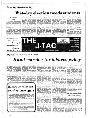 The J-TAC (Stephenville, Tex.), Vol. 59, No. 3, Ed. 1 Thursday, February 9, 1978
