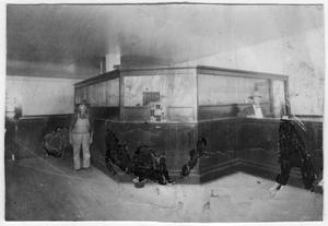 Primary view of object titled 'First Bank in Van Horn (interior)'.