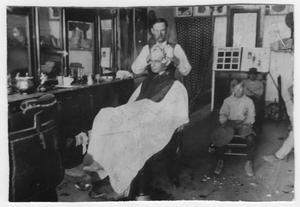 Primary view of object titled 'Barbershop'.