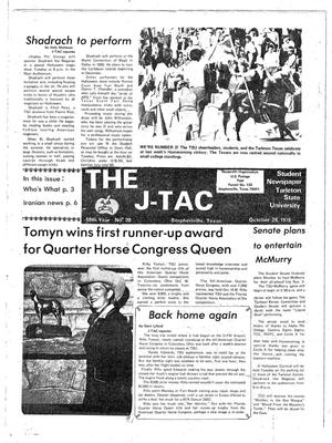 The J-TAC (Stephenville, Tex.), Vol. 59, No. 22, Ed. 1 Thursday, October 26, 1978