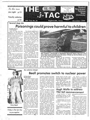 The J-TAC (Stephenville, Tex.), Vol. 59, No. 26, Ed. 1 Thursday, December 7, 1978