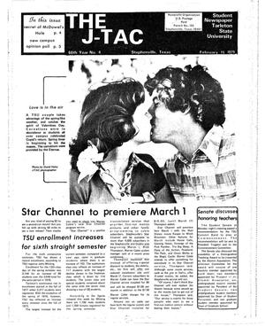 Primary view of object titled 'The J-TAC (Stephenville, Tex.), Vol. 60, No. 4, Ed. 1 Thursday, February 15, 1979'.