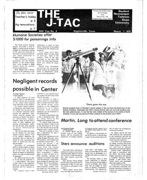 Primary view of object titled 'The J-TAC (Stephenville, Tex.), Vol. 60, No. 6, Ed. 1 Thursday, March 1, 1979'.