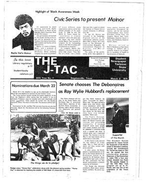 The J-TAC (Stephenville, Tex.), Vol. 60, No. 7, Ed. 1 Thursday, March 8, 1979
