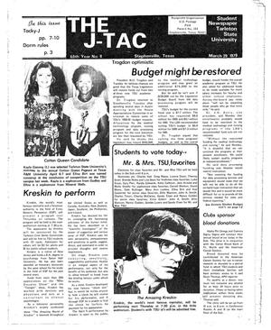 Primary view of object titled 'The J-TAC (Stephenville, Tex.), Vol. 60, No. 8, Ed. 1 Thursday, March 29, 1979'.