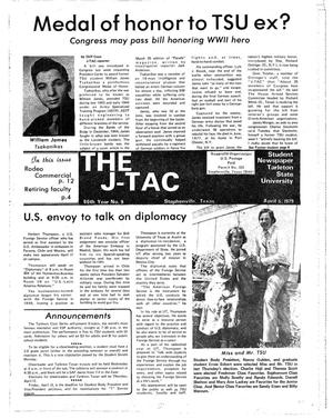 Primary view of object titled 'The J-TAC (Stephenville, Tex.), Vol. 60, No. 9, Ed. 1 Thursday, April 5, 1979'.