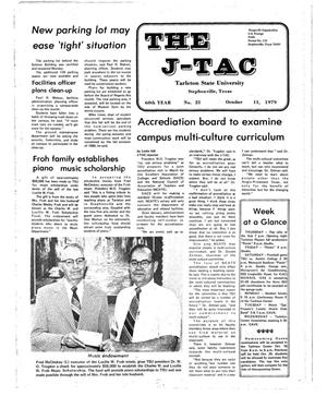 Primary view of object titled 'The J-TAC (Stephenville, Tex.), Vol. 60, No. 20, Ed. 1 Thursday, October 11, 1979'.