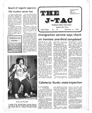 Primary view of object titled 'The J-TAC (Stephenville, Tex.), Vol. 60, No. 28, Ed. 1 Thursday, December 6, 1979'.