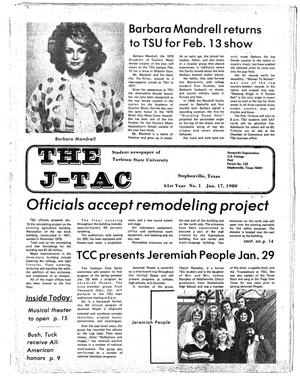 Primary view of object titled 'The J-TAC (Stephenville, Tex.), Vol. 61, No. 1, Ed. 1 Thursday, January 17, 1980'.