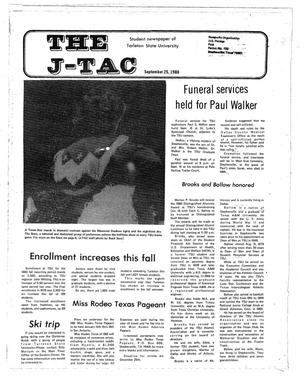 Primary view of object titled 'The J-TAC (Stephenville, Tex.), Ed. 1 Thursday, September 25, 1980'.