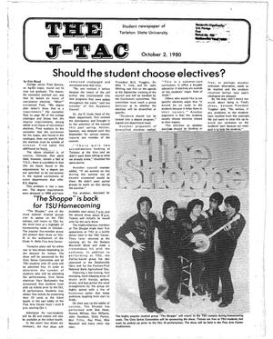 Primary view of object titled 'The J-TAC (Stephenville, Tex.), Ed. 1 Thursday, October 2, 1980'.