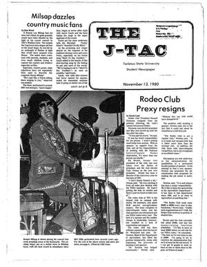 Primary view of object titled 'The J-TAC (Stephenville, Tex.), Ed. 1 Thursday, November 13, 1980'.