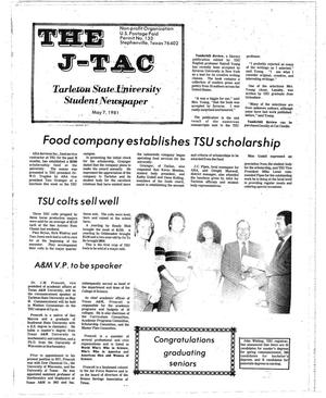Primary view of object titled 'The J-TAC (Stephenville, Tex.), Ed. 1 Thursday, May 7, 1981'.