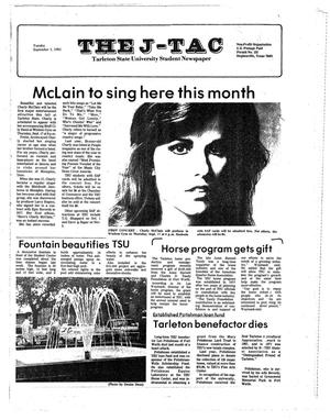 The J-TAC (Stephenville, Tex.), Ed. 1 Tuesday, September 1, 1981