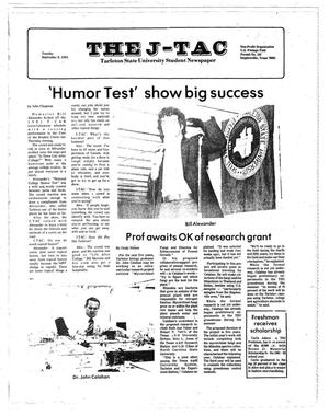 Primary view of object titled 'The J-TAC (Stephenville, Tex.), Ed. 1 Tuesday, September 8, 1981'.