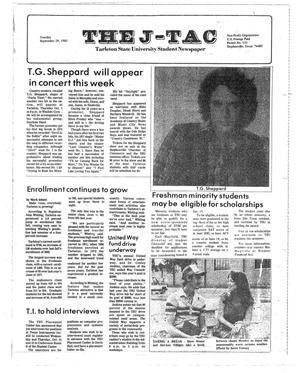 Primary view of object titled 'The J-TAC (Stephenville, Tex.), Ed. 1 Tuesday, September 29, 1981'.