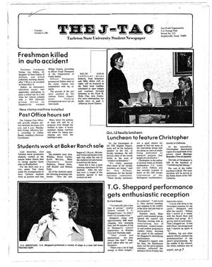 The J-TAC (Stephenville, Tex.), Ed. 1 Tuesday, October 6, 1981