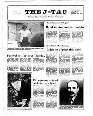 The J-TAC (Stephenville, Tex.), Ed. 1 Tuesday, February 16, 1982