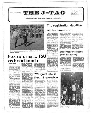 Primary view of object titled 'The J-TAC (Stephenville, Tex.), Ed. 1 Tuesday, January 18, 1983'.