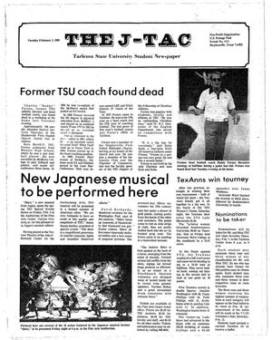 Primary view of object titled 'The J-TAC (Stephenville, Tex.), Ed. 1 Tuesday, February 1, 1983'.