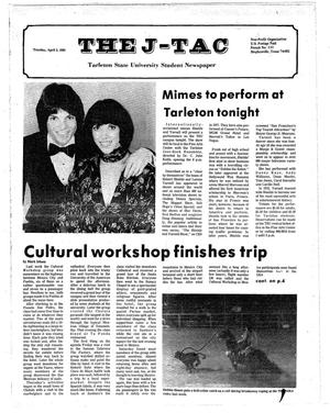 Primary view of object titled 'The J-TAC (Stephenville, Tex.), Ed. 1 Tuesday, April 5, 1983'.