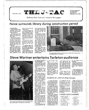 Primary view of object titled 'The J-TAC (Stephenville, Tex.), Ed. 1 Tuesday, May 3, 1983'.