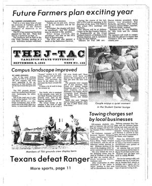 Primary view of object titled 'The J-TAC (Stephenville, Tex.), Ed. 1 Tuesday, September 6, 1983'.