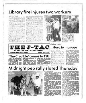 The J-TAC (Stephenville, Tex.), Ed. 1 Tuesday, September 13, 1983