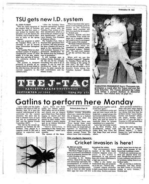 The J-TAC (Stephenville, Tex.), Ed. 1 Tuesday, September 20, 1983