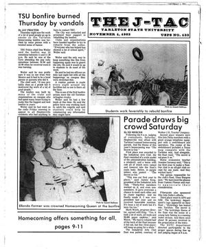 Primary view of object titled 'The J-TAC (Stephenville, Tex.), Ed. 1 Tuesday, November 1, 1983'.