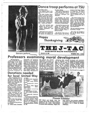 The J-TAC (Stephenville, Tex.), Ed. 1 Tuesday, November 22, 1983