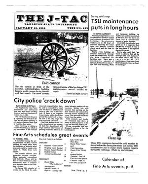 Primary view of object titled 'The J-TAC (Stephenville, Tex.), Ed. 1 Thursday, January 12, 1984'.