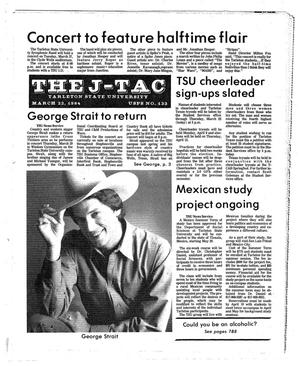 The J-TAC (Stephenville, Tex.), Ed. 1 Thursday, March 22, 1984