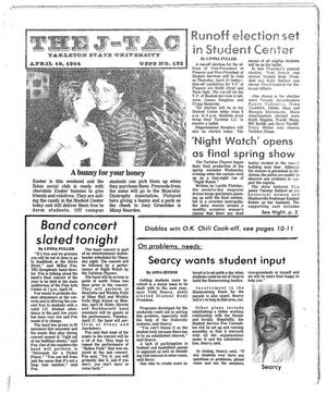 The J-TAC (Stephenville, Tex.), Ed. 1 Thursday, April 19, 1984