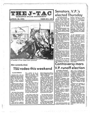 Primary view of object titled 'The J-TAC (Stephenville, Tex.), Ed. 1 Thursday, April 26, 1984'.