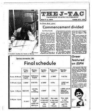 Primary view of object titled 'The J-TAC (Stephenville, Tex.), Ed. 1 Thursday, May 3, 1984'.